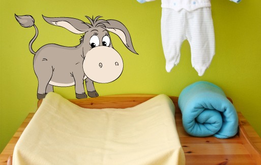 Wall Sticker - Small Donkey 2