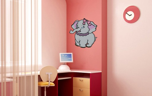 Wall Sticker - Small Elephant 2