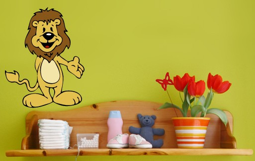 Wall Sticker - Small Lion 2