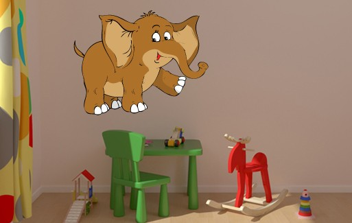 Wall Sticker - Small Elephant 1