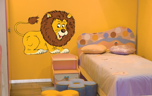 Wall Sticker -Little Lion 1