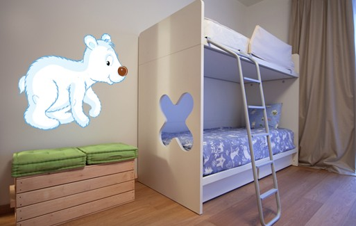 Wall Sticker - Bear Cub